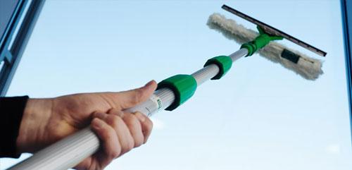 Aparatos limpiacristales guías