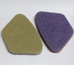 pulidoras de suelo esponja diamantado segmento gris block