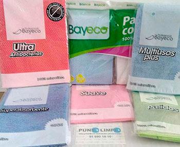 productos de limpieza por mayor bayeta